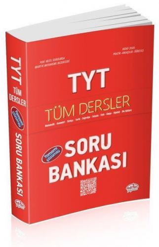 Editör TYT Tüm Dersler Çözümlü Soru Bankası 2020 YENİ