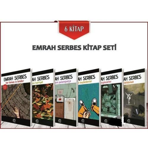 Emrah Serbes 6 Kitap Seti Emrah Serbes
