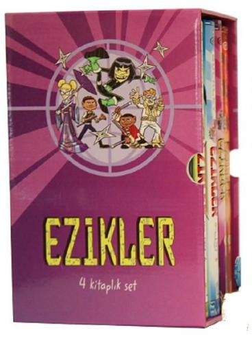 Ezikler Serisi 4 Kitap Set Michael Buckley