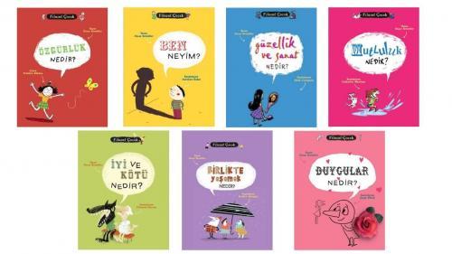 Filozof Çocuk Seti 7 Kitap Oscar Brenifier