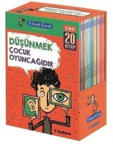 Filozof Çocuk Serisi Set 20 Kitap Takım Oscar Brenifier