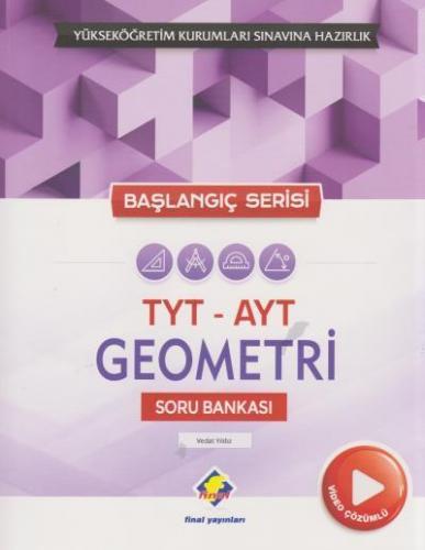 Final TYT AYT Geometri Soru Bankası Video Çözümlü Başlangıç Serisi YENİ