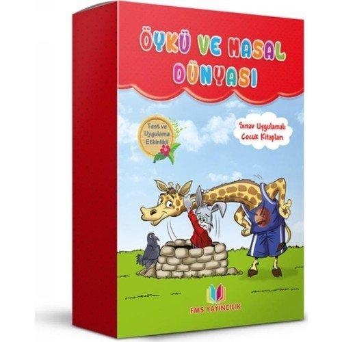 Öykü Ve Masal Dünyası (8 Kitap)