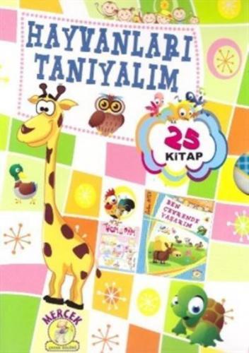 Mercek 1. Sınıf Hayvanları Tanıyalım Hikaye Seti 25 Kitap