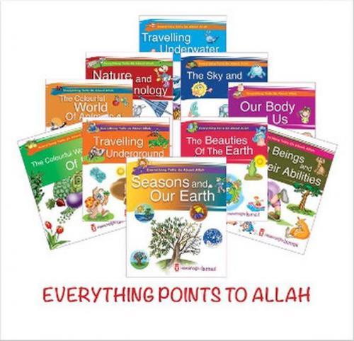 Her Şey Allah'ı Anlatıyor İngilizce 10 Kitap Set