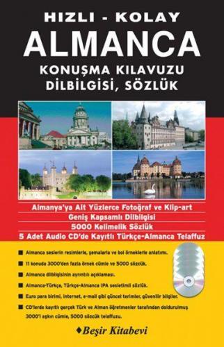 Hızlı Kolay Almanca Konuşma Kılavuzun Dilbilgisi Sözlük CD'li