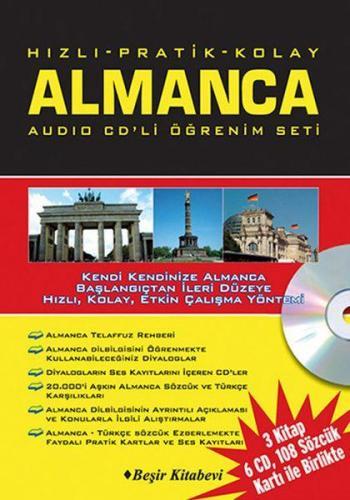 Hızlı Pratik Kolay Almanca Audio CDli Öğrenim Set