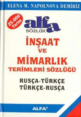 İnşaat ve Mimarlık Terimleri Sözlüğü Rusça Türkçe Türkçe Rusça