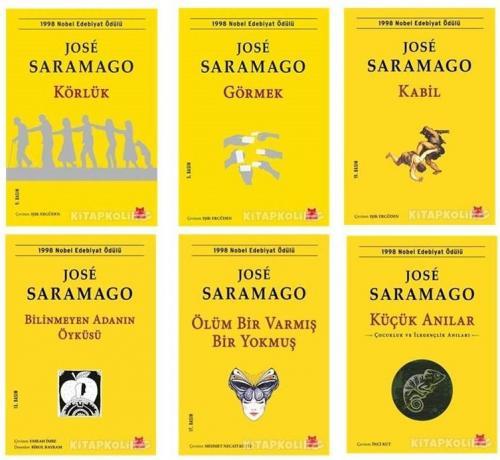 Jose Saramago Seti 6 Kitap