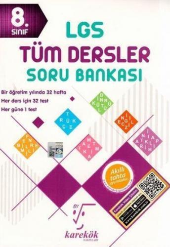 Karekök 8. Sınıf LGS Tüm Dersler Soru Bankası YENİ