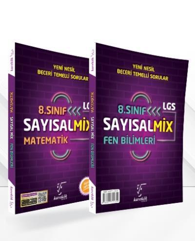 Karekök 8. Sınıf Sayısal Mix Matematik Fen Bilimleri YENİ Komisyon