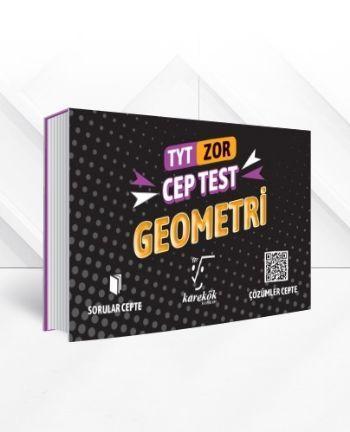 Karekök TYT Cep Test Geometri Zor YENİ Mehmet Alkan