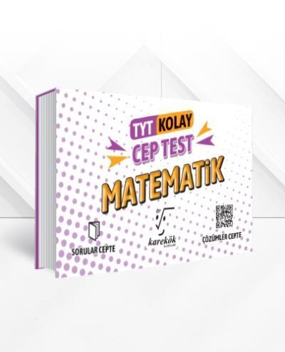 Karekök TYT Cep Test Matematik Kolay YENİ