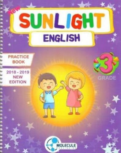 Molekül 3. Sınıf Sunlight English Practice Book Molekül Yayınları Kole