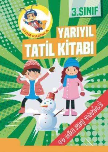 Molekül 3. Sınıf Yarıyıl Tatil Kitabı YENİ Molekül Yayınları Komisyon