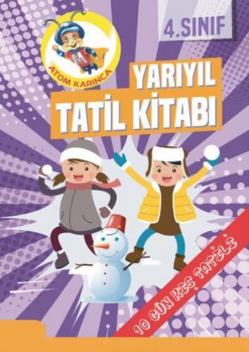 Molekül 4. Sınıf Yarıyıl Tatil Seti YENİ Molekül Yayınları Komisyon