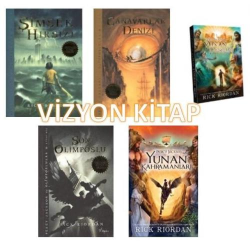 Percy Jackson ve Olimposlular  Kitap Takım