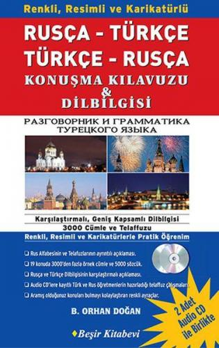 Rusça Türkçe Türkçe Rusça Konuşma Kılavuzu Dilbilgisi 1 Kitap 2 CD