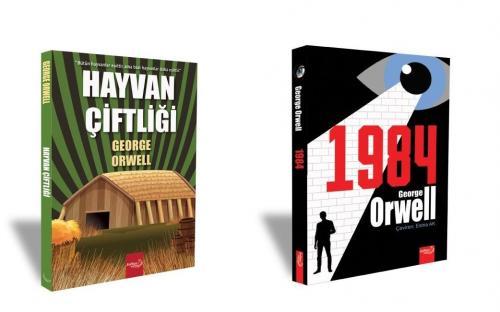 George Orwell Seti Hayvan Çiftliği - 1984 George Orwell