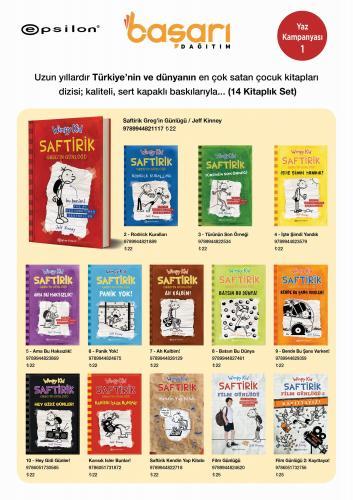 Saftirik Gregin Günlüğü Seti 14 Kitap Jeff Kinney