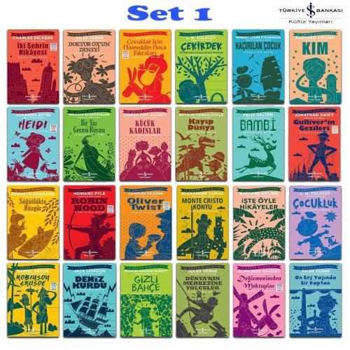 Dünya Çocuk Klasikleri 24 Kitap
