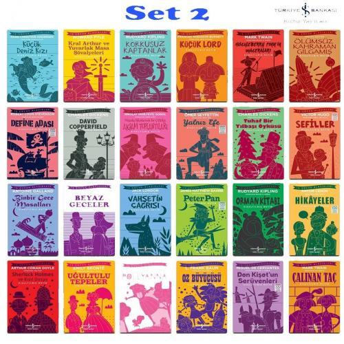 Dünya Çocuk Klasikleri 24 Kitap 2. Set