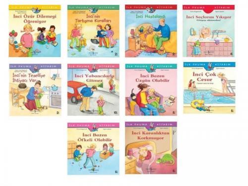 Okul Öncesi Ilk Kitabım Incinin Maceraları Seti 10 Kitap Anna Wagenhof