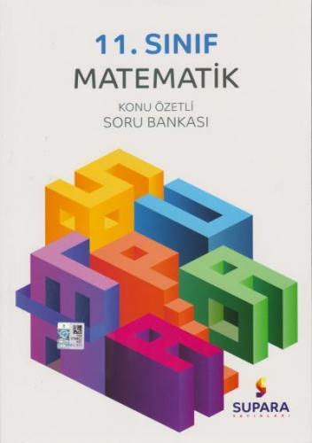 Supara 11. Sınıf Matematik Konu Özetli Soru Bankası YENİ