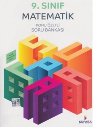 Supara 9. Sınıf Matematik Konu Özetli Soru Bankası YENİ