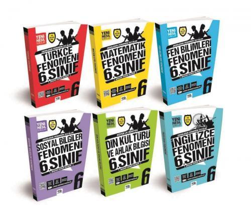 Tandem 6. Sınıf Tüm Dersler Soru Bankası Seti 6 Kitap