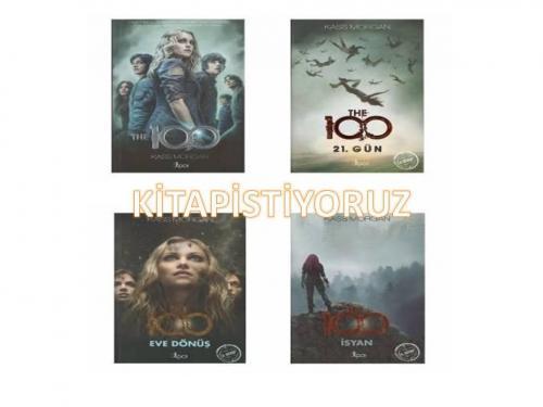 The 100 Set 4 Kitap Kass Morgan The 100 ,21.Gün ,Eve Dönüş,İsyan