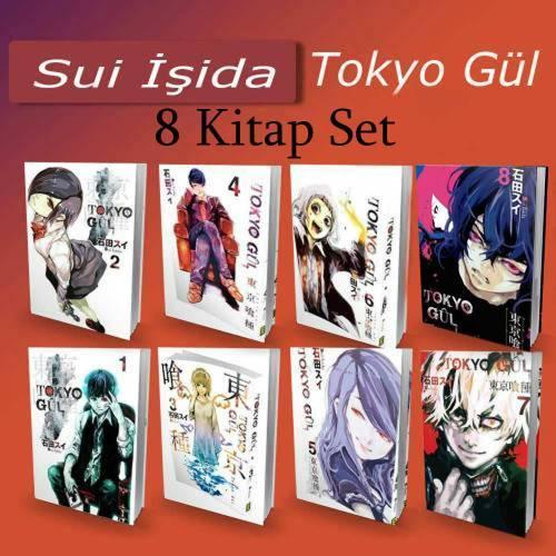 Tokyo Gul - 8 Kitap -Tam Set -Çizgi roman 1-2-3-4-5-6-7-8 Cilt %25 ind