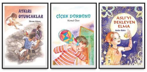 Tudem Çocuk Seti 3 Kitap (Çiçek Dürbünü - Aykırı Oyuncaklar - Aslıyı B