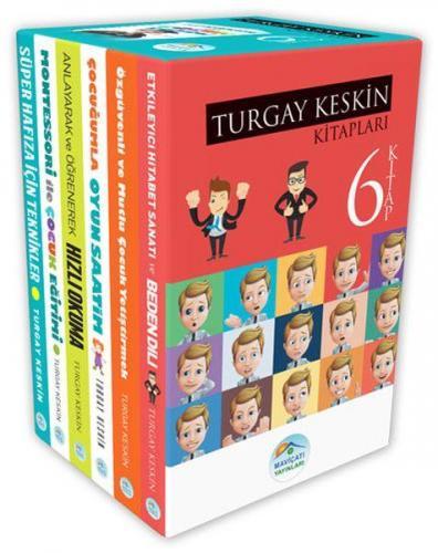 Turgay Keskin Gelişim Kitapları Seti 6 Kitap Takım