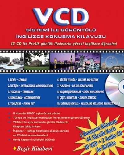 VCD Sistemi ile Görüntülü İngilizce Konuşma Kılavuzu 12 CD ile
