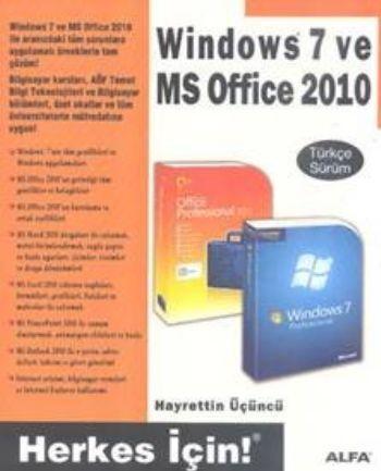 Windows 7 ve MS Office 2010 Türkçe Sürüm