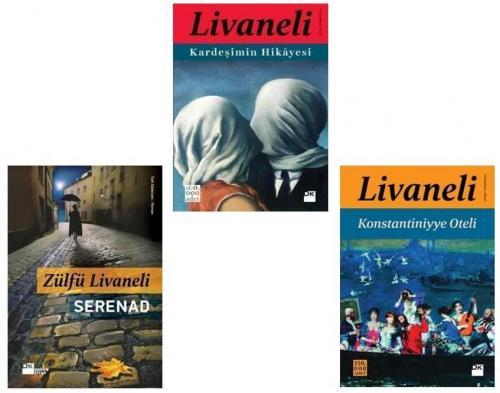 Zülfü Livaneli 3 Lü Set