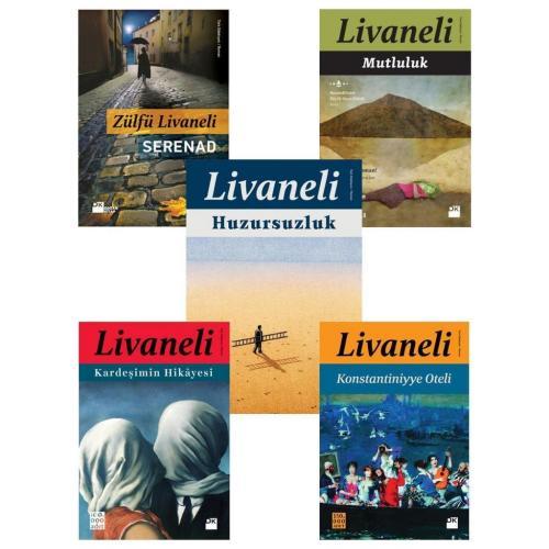 Zülfü Livaneli 5 Kitap Set Doğan Kitap Zülfü Livaneli