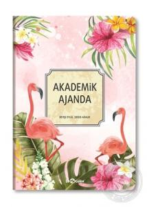 Le Color 2019/2020 Akademik Ajanda - Flamingo
