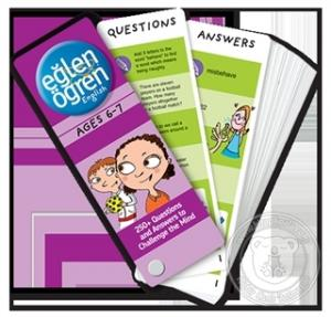 Eğlen Öğren English Time Card (6-7 Ages)