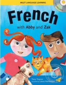 French With Abby and Zak (Kitap + CD)
