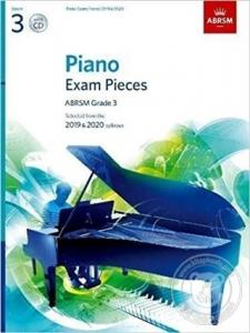 Piano Exam Pieces - ABRSM Grade 3