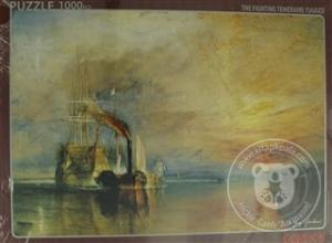 The Fighting Temeraire Tugged Puzzle (1000 Parça)