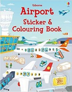 USB - Airport Sticker and Colouring Book