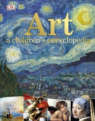 Art - A Children's Encyclopedia (Ciltli) Kolektif