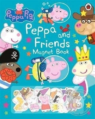 Peppa Pig - Peppa and Friends Magnet Book (Ciltli)