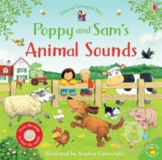 Poppy and Sam's Animal Sounds (Ciltli)