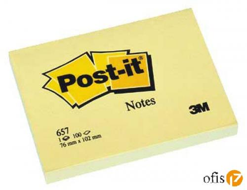 POST-IT 657 NOT SARI 100yp 76x102mm
