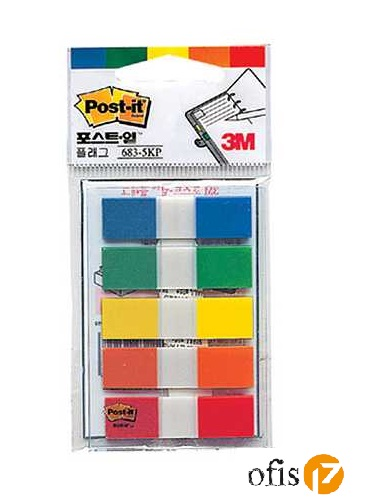 POST-IT 683-5KP İNDEX 5 RENK 20yp