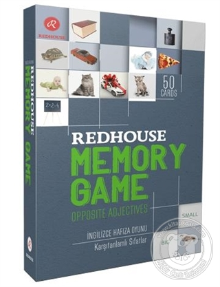 Redhouse Memory Game-Opposite Adjectives (Kutulu)